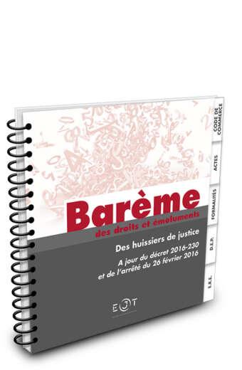 bareme2016